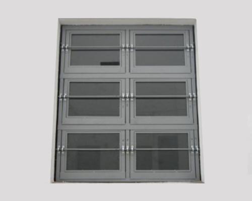 铝制泄爆窗