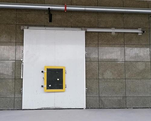 不锈钢电动冷库门
